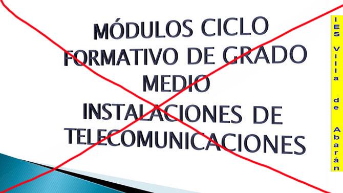 Educación Suprime Un Ciclo Formativo En El Ies Villa De